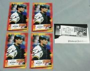 Jason Kendall Pittsburgh Pirates Signed 3.5 X 5.7 Team Issue Postcards 4