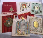 Vintage Greeting Cards Of Distinction M.m.a Holy Decorative Christmas Cards 6