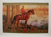 Arnold Friberg Giclee Canvas Maintaining The Right Rcmp Royal Mounted Police
