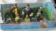 New Disney Store Mickey Mouse Clubhouse Figurine Playset Lot Of 6 Cake Toppers
