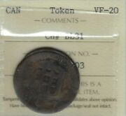 Blacksmith Jb Warehouse Bl-31 Coinage Die Axis Iccs Vf-20 Inv 1279