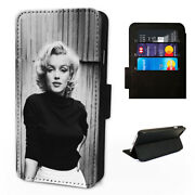 Pretty Marilyn Monroe - Flip Phone Case Wallet Cover - Fits Iphone 5 6 7 8 X 11