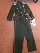 Vintage Military Usaf Air Force Black Mess Dress Uniform W/boardsmedals 1960and039s