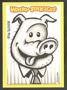 Wacky Packages All New Series 11 2013 Sketch Card Dustin Graham Minute Mud