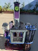 Monster High Doll House Deluxe High School Creepy Playset Furniture Pick Up Only