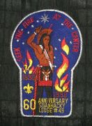 Boy Scout Oa Lodge 49 Suanhacky X9 60th 1930-1990 Merged 2013 Queens Council Ny