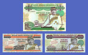 Brunei - Lots Of 3 Notes - 500--10000 Ringgit - Reproductions