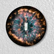Glowing Eye Nebula Round Light Switch And Outlet Plate Covers