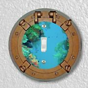 Porthole Nautical Round Light Switch And Outlet Plate Covers