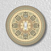 Victorian Ornament Round Light Switch And Outlet Plate Covers