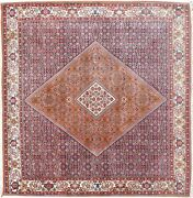 Vintage Square Handwoven Oriental Rug 6and0396 X 6and0399 E24253