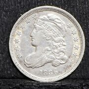 1836 Bust Dime - Xf Details 28642