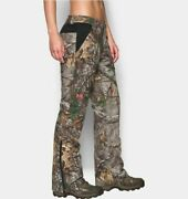 Nwt 8 Womens Under Armour Realtree Extreme Siberian Hunting Pants Storm2 Rv240
