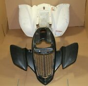 Yamaha Raptor 660 Plastics Fenders Grill Front Rear 2001-2005 Grill Nose At11