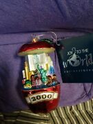 Vintage Joy To The World Ornament Depicting Nyc 2001 Le 2001 Pieces