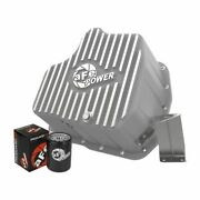 Afe Power 46-70340 Engine Oil Pan Raw Machined Fins For 11-16 Gm Duramax New
