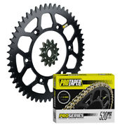 Pro Taper F/r Sprockets And Pro Forged O-ring Chain Kit For Suzuki Rmz450 Rmx450z
