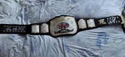 Wwf Tag Team Belt Replica Signed By Terry Funk And Mick Foley /500 Official Wwe