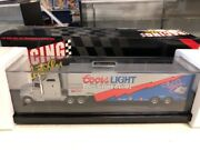 Winston Cup 164 Scale Action Kyle Petty Coors Hauler New /3000 Coa Die Cast New
