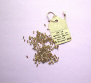 Wow Genuine 14k Gold Foil Lined Antique Glass Beads Lot
