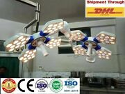 Ossio 404 Double Dome Ceiling Ot Light Surgical Led Ot Surgery Operating Lights