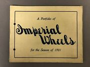 A Portfolio Of Imperial Wheels 1901 8 Page Bicycle Catalogue 6andrdquo X 8andrdquo