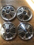 1966 Ford Mustang 14 Hubcap Wheel Covers Hubcaps Fair Condition