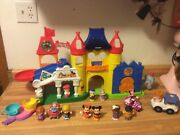 Little People Day @ Disney Magic Kingdom Castle Playset W/ Music And Fireworks