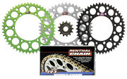 Renthal Front And Ultralight Rear Sprocket And R1 Works Chain Kit For Kawasak Kx250f