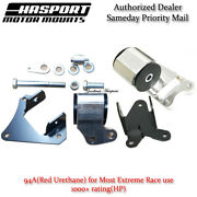 Hasport Mounts Right And Left Mount 2pcs For 02-06 Rsx/ Civic Si Dc5rh Dc5lh-94a
