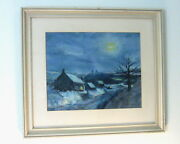 Antique Original 1962 Signed Oil Painting Andndash Signed By Diane Weston