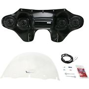 Hoppe Industries - Hpkt-0044a - Fairing With Stereo Receiver Yamaha Xv 1600 Road