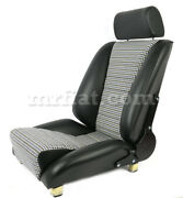 For Porsche 911 Sport S Leatherette Blue Houndstooth New