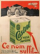 Anonym Huile Castrol Castrol Oil Ce Nom Suffit 158x119 Cm Old Poster
