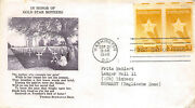 969 3c Gold Star Mothers Fulton Stamp Co Destination To Einbeck, Germany[403249]