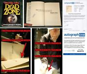 Stephen King Signed Dead Zone Hardcover 1st Book Club Edition - Exact Proof Acoa