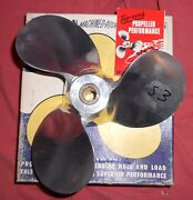 New Michigan Wheel 10 X 12 G-92 Aluminum Propeller For West Bend 1955 - 1957 S3