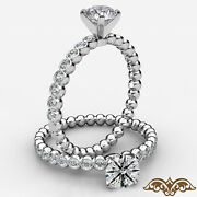 Round Diamond Engagement Gold Ring Gia Certified E Color Vvs1 Clarity 0.35 Ctw.