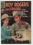Roy Rogers And Trigger 135 Dell 1960 Fn Photo Stetson African Safari Cowboy West