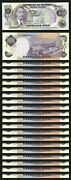 Philippines 100 Piso Pesos 1978 Unc 20 Pcs Lot Consecutive P-164b Prefix Dn