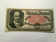 Rare Fr 1381 Fractional Currency With Sheet Number 34 On Back