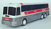 Trailways Bus Eagle Coach Model 15 Running Dog 10 Scale Model Plastic Coin Bank