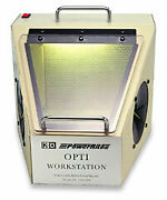Buffalo Dental Dust Collector Opti Workstation With Light Without Suction 120v