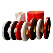 3m 4949-1/2x36yd Tape 4949 Black Small Pack 1/2 In X 36 Yd 45.0 Mil