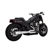 Vance And Hines Pro Pipe Exhaust For Harley Softail Models - Chrome - 17587