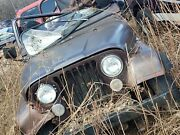 77 Cj7 Motor And Running Gear Or Whole Rusted Jeep Parts