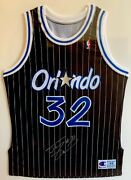 Signed 1992-93 Shaquille Shaq Oand039neal Authentic Rookie Jersey Autograph Coa Rc Pe