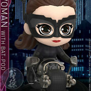 Hot Toys Cosb725 The Dark Knight Rises Catwoman And Batpod Cosbaby Mini Figure