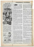 1957 Thermos Outing Kit Left Side Page Magazine Ad