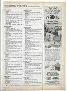 1957 Thermos Outing Jugs And Ice Chests Right Side Page Magazine Ad